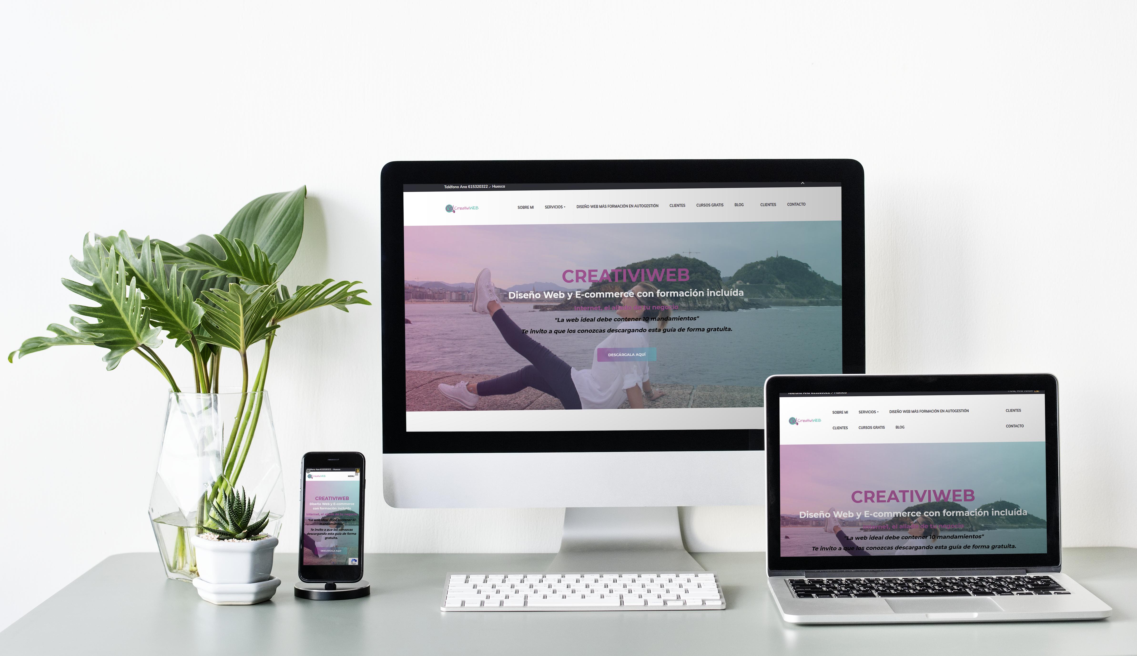 Diseño Web creativiweb